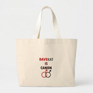 Grand Tote Bag Davekat est Canon (v1)