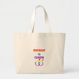 Grand Tote Bag Davekat est Canon (v2)