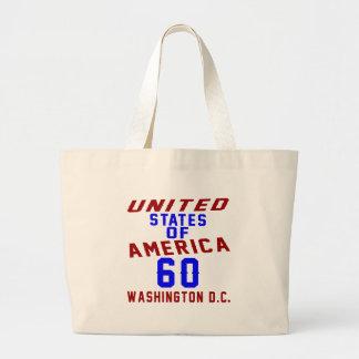 Grand Tote Bag DC des Etats-Unis d'Amérique 60 Washington
