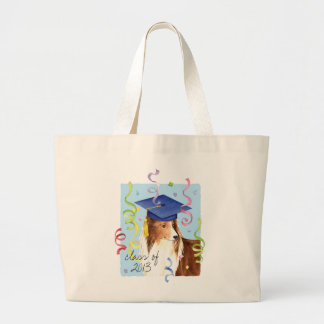 Grand Tote Bag Diplômé de Sheltie