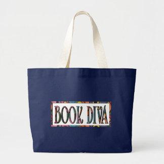 Grand Tote Bag Diva de livre