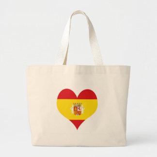 Grand Tote Bag Drapeau de l'Espagne - le Bandera de Espana
