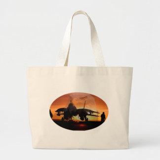 Grand Tote Bag eaglefighterjet22