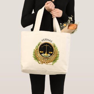 Grand Tote Bag Échelles de mandataire Fourre-tout de justice