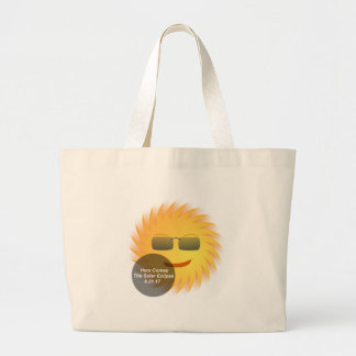 Grand Tote Bag Éclipse solaire