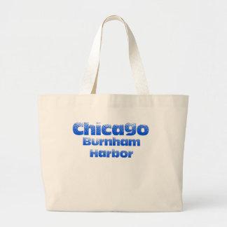 Grand Tote Bag Éléphant Fourre-tout de Chicago de port de Burnham