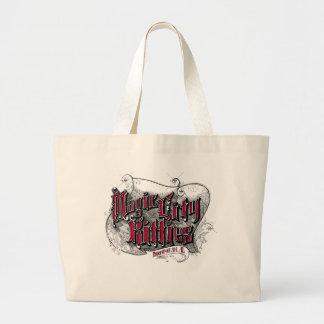 Grand Tote Bag Éléphant magique Fourre-tout de minous de ville