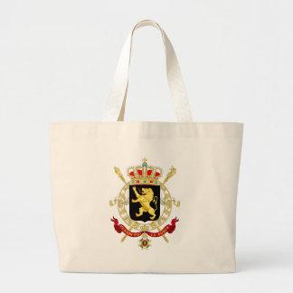 Grand Tote Bag Emblème belge - manteau des bras de la Belgique