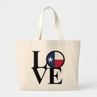 Grand Tote Bag Épicerie enorme Fourre-tout de coton du Texas