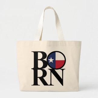 Grand Tote Bag Épicerie enorme NÉE Fourre-tout du Texas