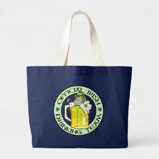 Grand Tote Bag Équipe potable irlandaise