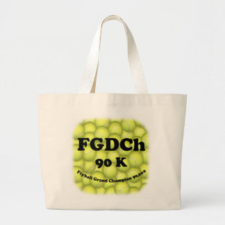 Grand Tote Bag FGDCh 90 K, champion grand de Flyball, 90.000