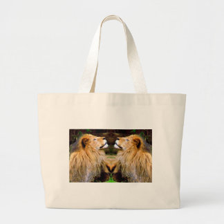 Grand Tote Bag Foi et Courage_