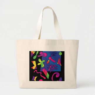 Grand Tote Bag Formes colorées