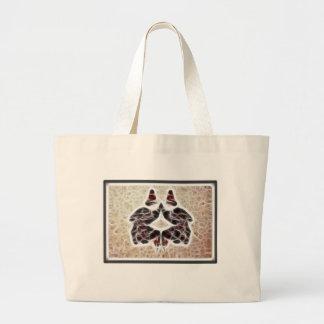 Grand Tote Bag Fractale 2 de Rorschach