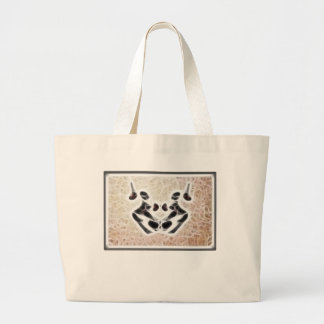 Grand Tote Bag Fractale 3 de Rorschach