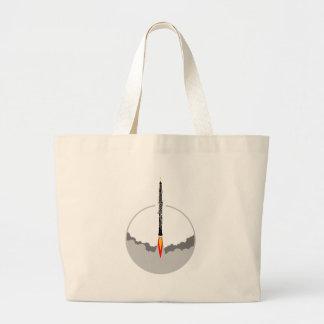 Grand Tote Bag fusée de hautbois