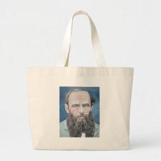 Grand Tote Bag fyodor dostoyevsky - portrait d'huile