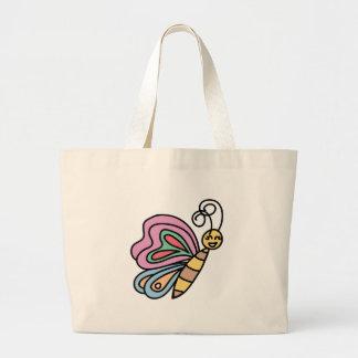 Grand Tote Bag Grand inspiré par des papillons Fourre-tout