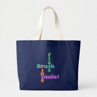 Grand Tote Bag Hygiéniste dentaire de dentiste
