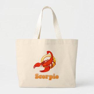 Grand Tote Bag Illustration de Scorpion