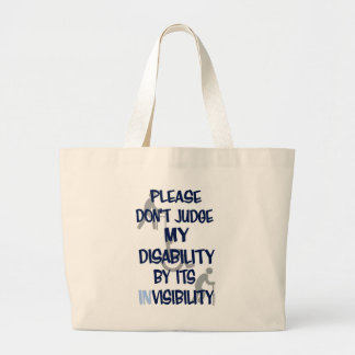 Grand Tote Bag Incapacité/invisibilité