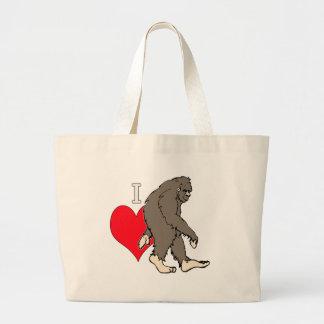 Grand Tote Bag j'aime Bigfoot, 2