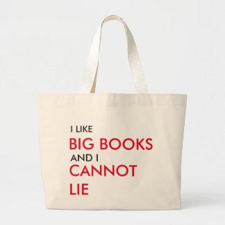 Grand Tote Bag J'aime de grands livres