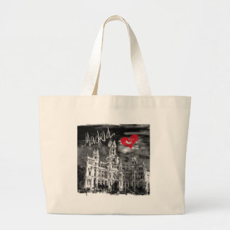 Grand Tote Bag J'aime Madrid