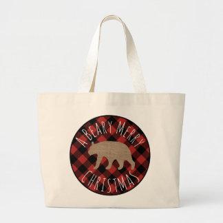 Grand Tote Bag Joyeux Noël Fourre-tout de Beary