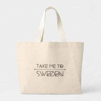 Grand Tote Bag La grande trousse me estampille Take to Sweden