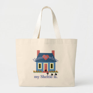 Grand Tote Bag La maison de Sheltie est