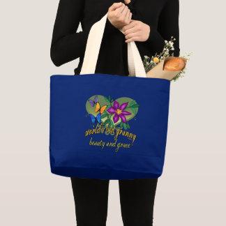Grand Tote Bag La meilleures beauté et grâce de mamie