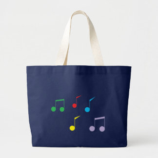 Grand Tote Bag La musique note Fourre-tout enorme