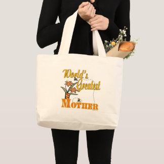 Grand Tote Bag La plus grande mère des mondes