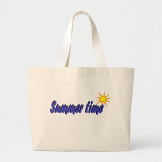 Grand Tote Bag La sonnerie répartit le temps