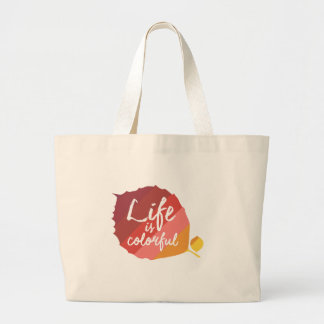 Grand Tote Bag La vie est belle