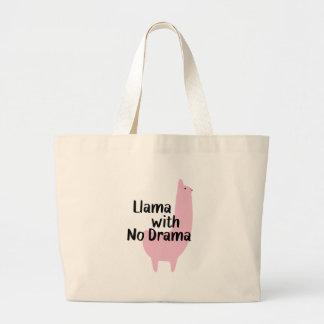 Grand Tote Bag Lama rose Fourre-tout