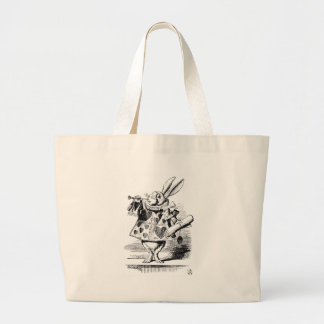 Grand Tote Bag Lapin blanc