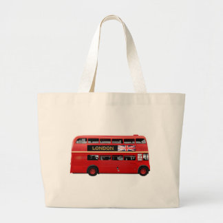 Grand Tote Bag L'autobus rouge de Londres