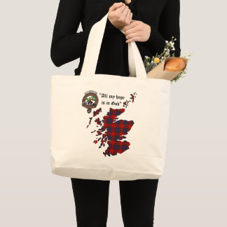 Grand Tote Bag Le clan de Fraser Badge Fourre-tout enorme