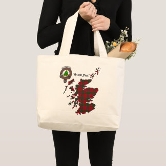 Grand Tote Bag Le clan de Grant Badge Fourre-tout enorme