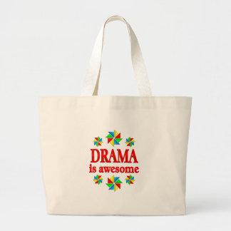 Grand Tote Bag Le drame est impressionnant