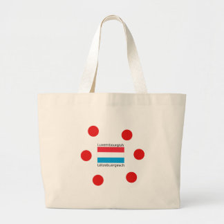 Grand Tote Bag Le Luxembourg diminuent et conception
