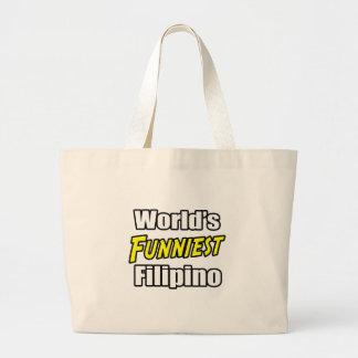 Grand Tote Bag Le Philippin le plus drôle du monde