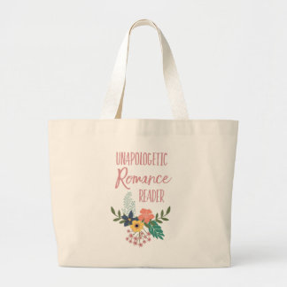 Grand Tote Bag Lecteur Romance convaincu grand Fourre-tout