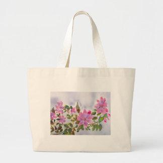 Grand Tote Bag Les roses de Nana
