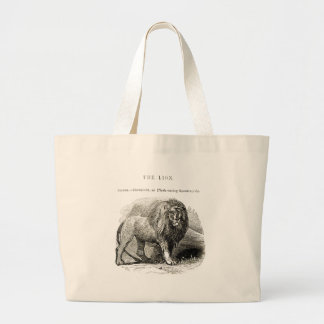 Grand Tote Bag Lion vintage
