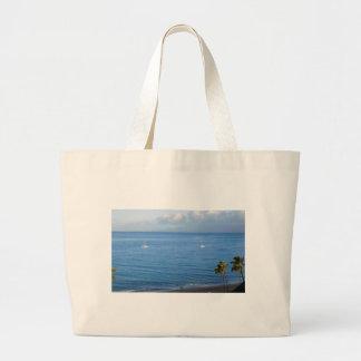 Grand Tote Bag L'océan pacifique, Maui