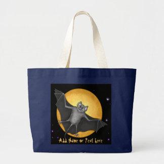 Grand Tote Bag Lune juste timbrée et de récolte
